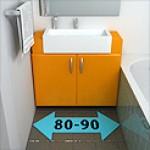 Мебель 80 - 90 см