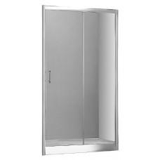 Душевая дверь в нишу Aquanet Alfa NAA6121 1400х2000 стекло прозрачное, профиль хром