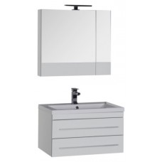 Мебель для ванной Aquanet Верона 75 подвесная белая