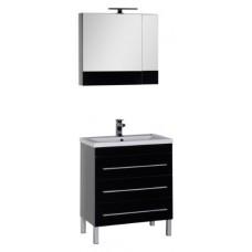 Мебель для ванной Aquanet Верона 75 черная