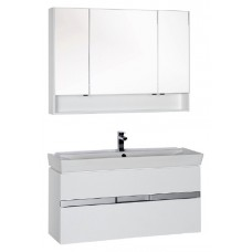 Мебель для ванной Aquanet Виго 120 белая