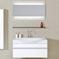 Мебель для ванной Aqwella 5 stars Бергамо 100 белый