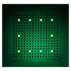 Верхний душ Bossini DREAM - Cube Light H37456 CR с хромотерапией