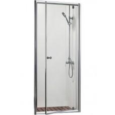 Душевая дверь в нишу Bravat Drop 80x200 распашная
