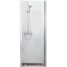 Душевая дверь в нишу Bravat Line 100x200 распашная