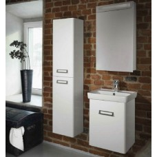 Мебель для ванной Dreja Door 50 белый глянец