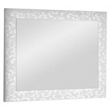 Зеркало Dreja Ornament 105 белое