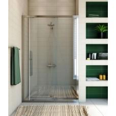 Душевая дверь в нишу GuteWetter Guwer GK-662D 105 см стекло бесцветное, профиль хром