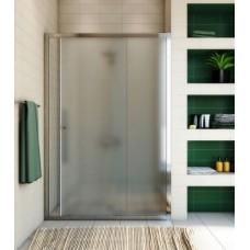 Душевая дверь в нишу GuteWetter Guwer GK-662D 115 см стекло матовое, профиль хром