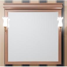 Зеркало Opadiris Борджи 105/2 светлый орех