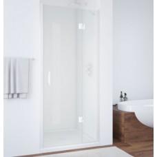 Душевая дверь в нишу Vegas Glass AFP 0100 01 01 R профиль белый, стекло прозрачное