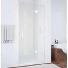 Душевая дверь в нишу Vegas Glass AFP 0110 01 01 R профиль белый, стекло прозрачное