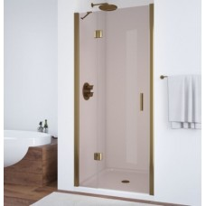 Душевая дверь в нишу Vegas Glass AFP 0100 05 05 L профиль бронза, стекло бронза