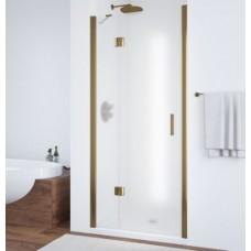 Душевая дверь в нишу Vegas Glass AFP 0100 05 10 L профиль бронза, стекло сатин