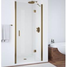 Душевая дверь в нишу Vegas Glass AFP 0110 05 01 R профиль бронза, стекло прозрачное