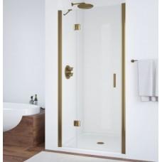 Душевая дверь в нишу Vegas Glass AFP 0110 05 01 L профиль бронза, стекло прозрачное
