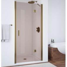 Душевая дверь в нишу Vegas Glass AFP 0110 05 05 R профиль бронза, стекло бронза