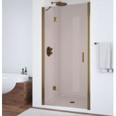 Душевая дверь в нишу Vegas Glass AFP 0110 05 05 L профиль бронза, стекло бронза