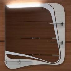 Зеркало Velvex Iva 65 светлый лен