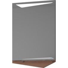 Зеркало Velvex Crystal Cub 60 темный лен