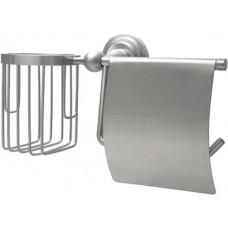 Держатель туалетной бумаги Wasserkraft Ammer K-7059 с держателем освежителя воздуха